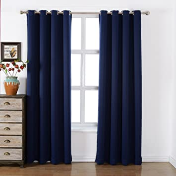 Amazoncom Sleep Well Blackout Curtains Toxic Free Energy Smart