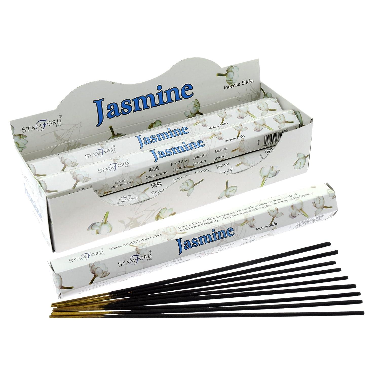 ホットセール Stamford Packs Jasmine Incense, 20 Incense, Sticks B000KEE1HO x 6 Packs by Stamford B000KEE1HO, ROCKIN WEB 小島屋:8c08a951 --- egreensolutions.ca