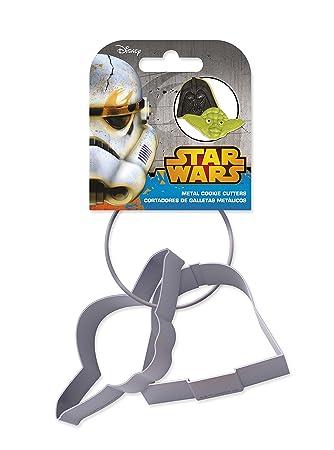 GGS Star Wars - Set Of 2 Metal Cookie Cutters: Amazon.de: Küche ...