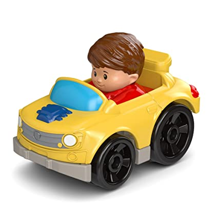 Amazon Com Fisher Price Little People Wheelies Muscle Car Toys Games