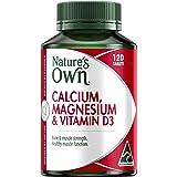 Nature's Own Calcium, Magnesium & Vitamin D3 - 120 Tablets
