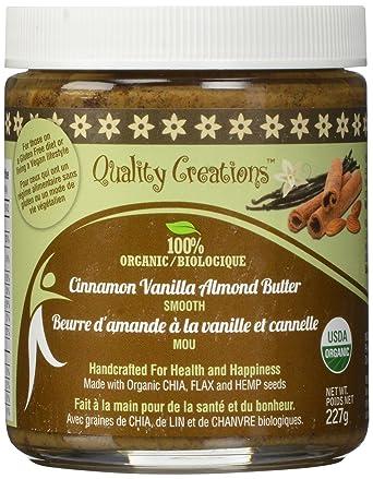Almendra Mantequilla – Canela Vainilla. 100% orgánico ...