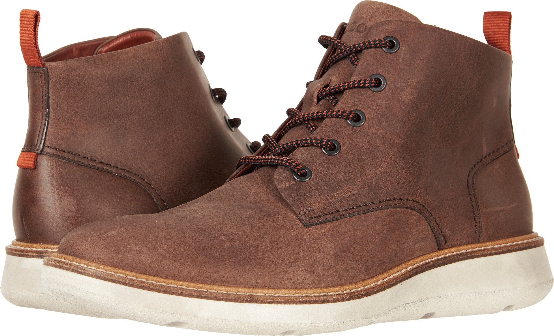 ECCO Men's Aurora Mid Chukka Boot, Cocoa Brown, 42 M EU/8-8.5 D(M) US