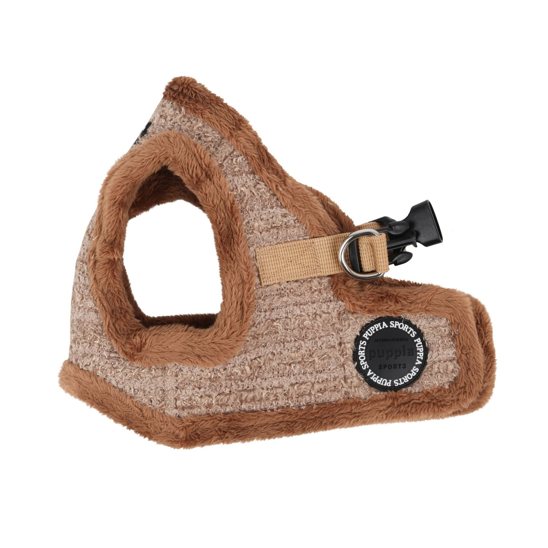 Puppia Authentic Wafer Vest Harness B, Medium, Beige