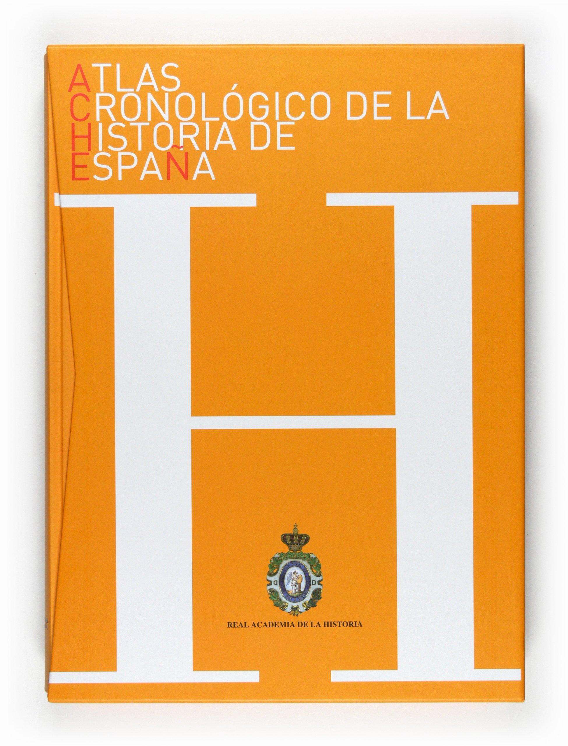 Atlas Cronológico de la Historia de España: ACHE: Amazon.es: Real Academia de la Historia,: Libros