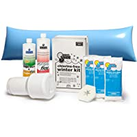 In The Swim Winterizing and Closing Chemical Kit Ultimate Bundle with 4 x 8 Foot Air Pillow