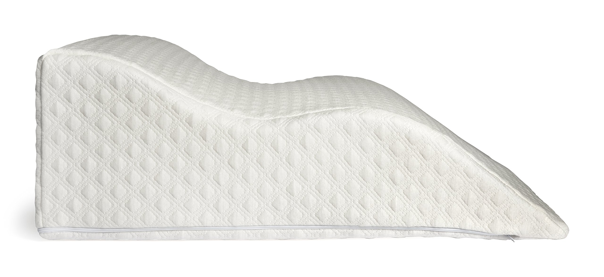 Aeris Large Memory Foam Bed Wedge Pillow For Acid Reflux