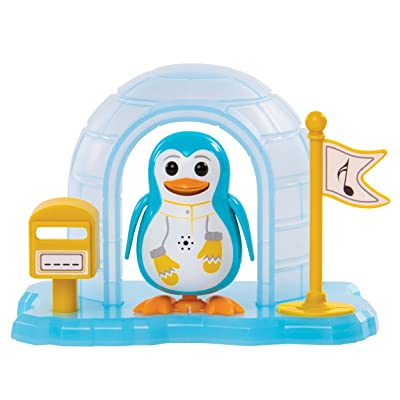 Digi Birds Penguin Toy with Igloo North: Toys & Games