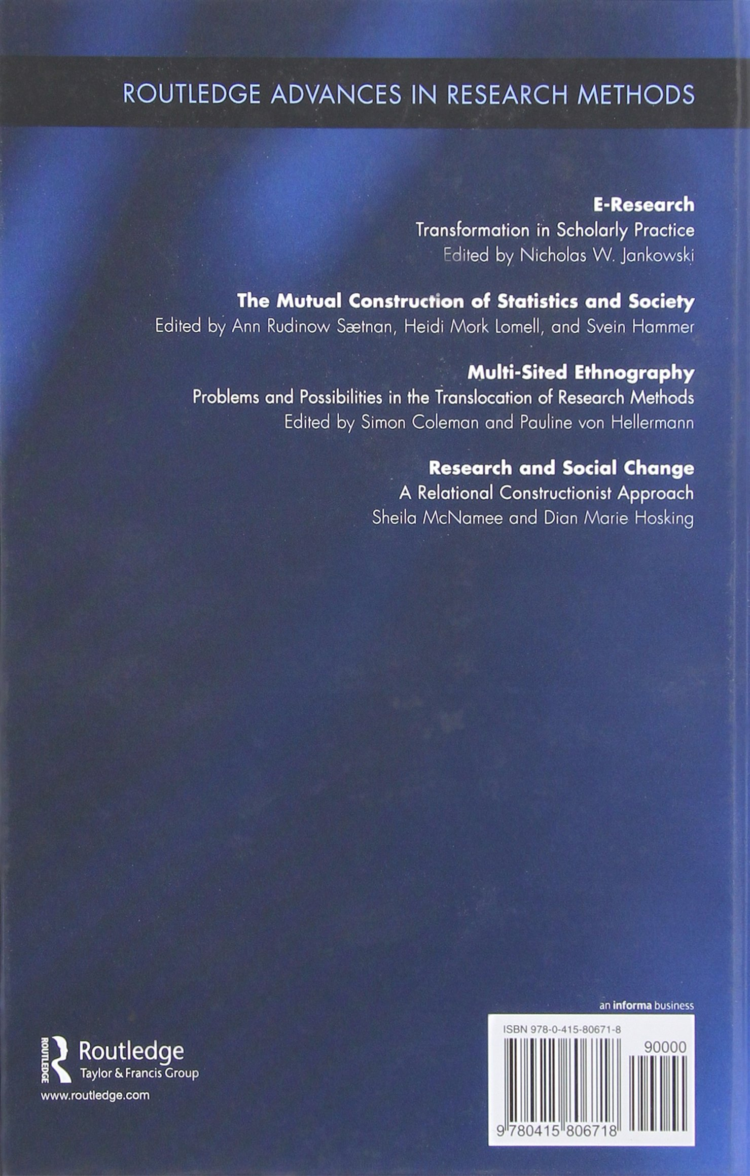 research and social change mcnamee sheila hosking dian marie