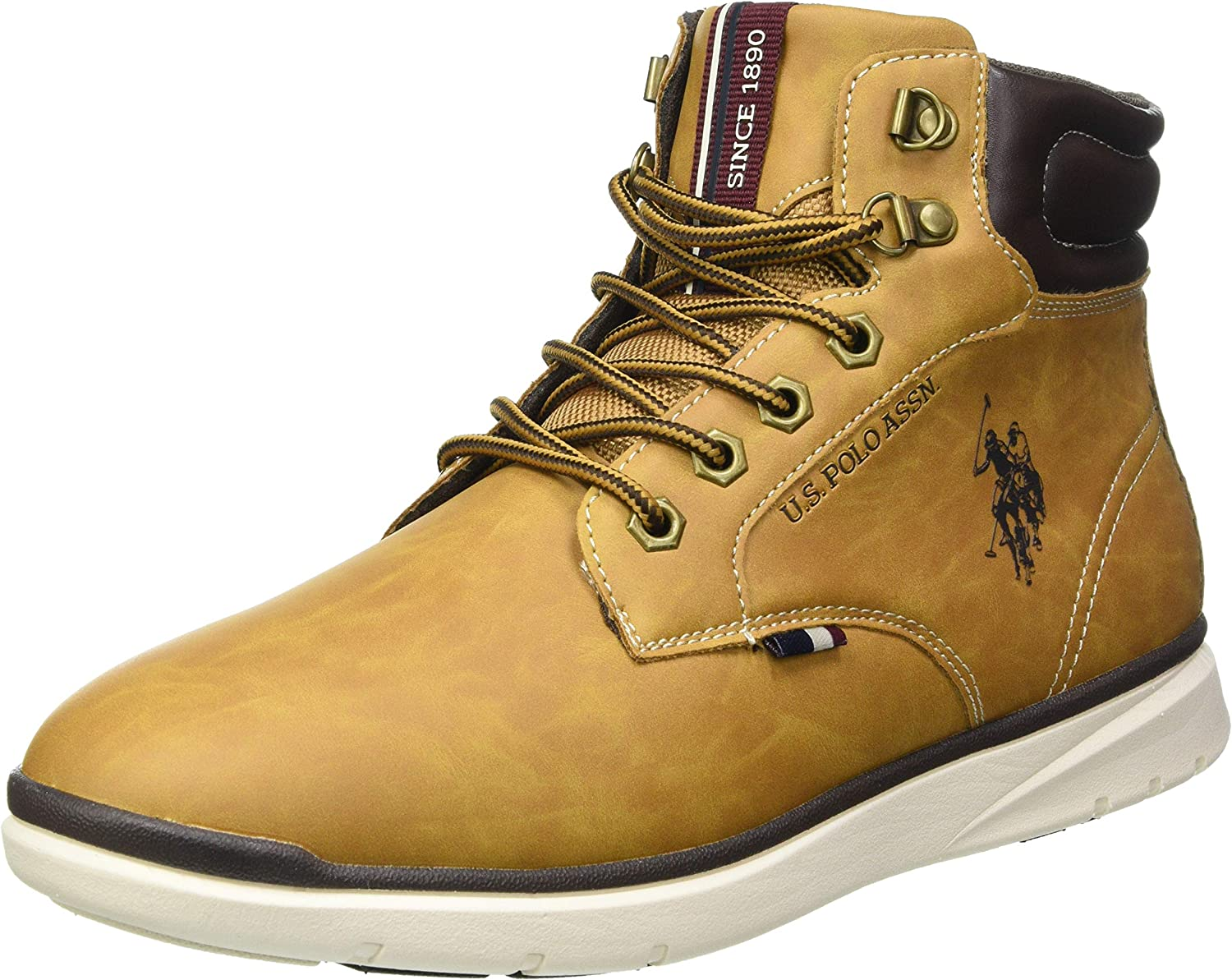 U.S.POLO ASSN. Max 82% OFF New products world's highest quality popular Men's Flat Oxford Gymnastics