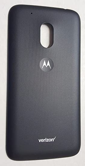 uk availability 34008 1ea47 Amazon.com: Motorola Moto G Play G4 XT1607 Back Cover Battery Door ...