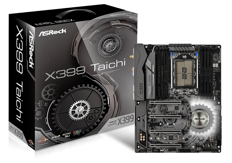 Asrock X399 Taichi Carte mère AMD X399 DDR4-SDRAM