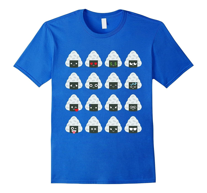 Japanese Sushi Rice Emoji Shirt T-Shirt Tee
