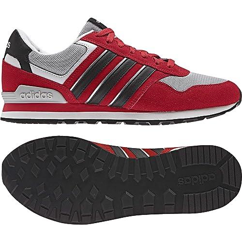 UomoRossoescarlnegbasplamat 10kScarpe Da Ginnastica Adidas Da Adidas UomoRossoescarlnegbasplamat 10kScarpe Ginnastica rCdxoeB