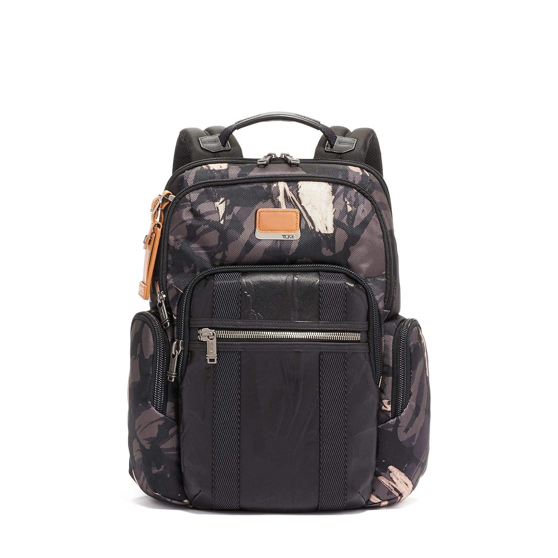 (トゥミ) TUMI Unisex Business Backpack 男女共用ビジネスバックパック (並行輸入品) One Size Grey Highlands Print B07P5L17PB