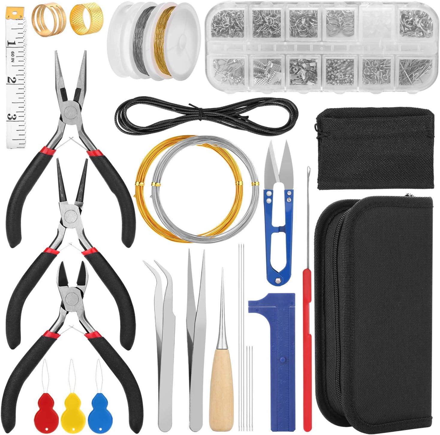Earring Making Kit Earring Making Supplies Repair Kit Leather Earring Making Supplies Kit Earring Hooks Earring Jump Rings Earring Repair