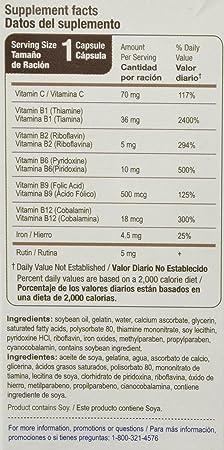 Bedoyecta Multi-Vitamin Capsules, 20 Count