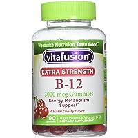 Vitafusion Ex Strength B- Size 90ct Vitafusion Ex Strength B-12 Gummies 90ct