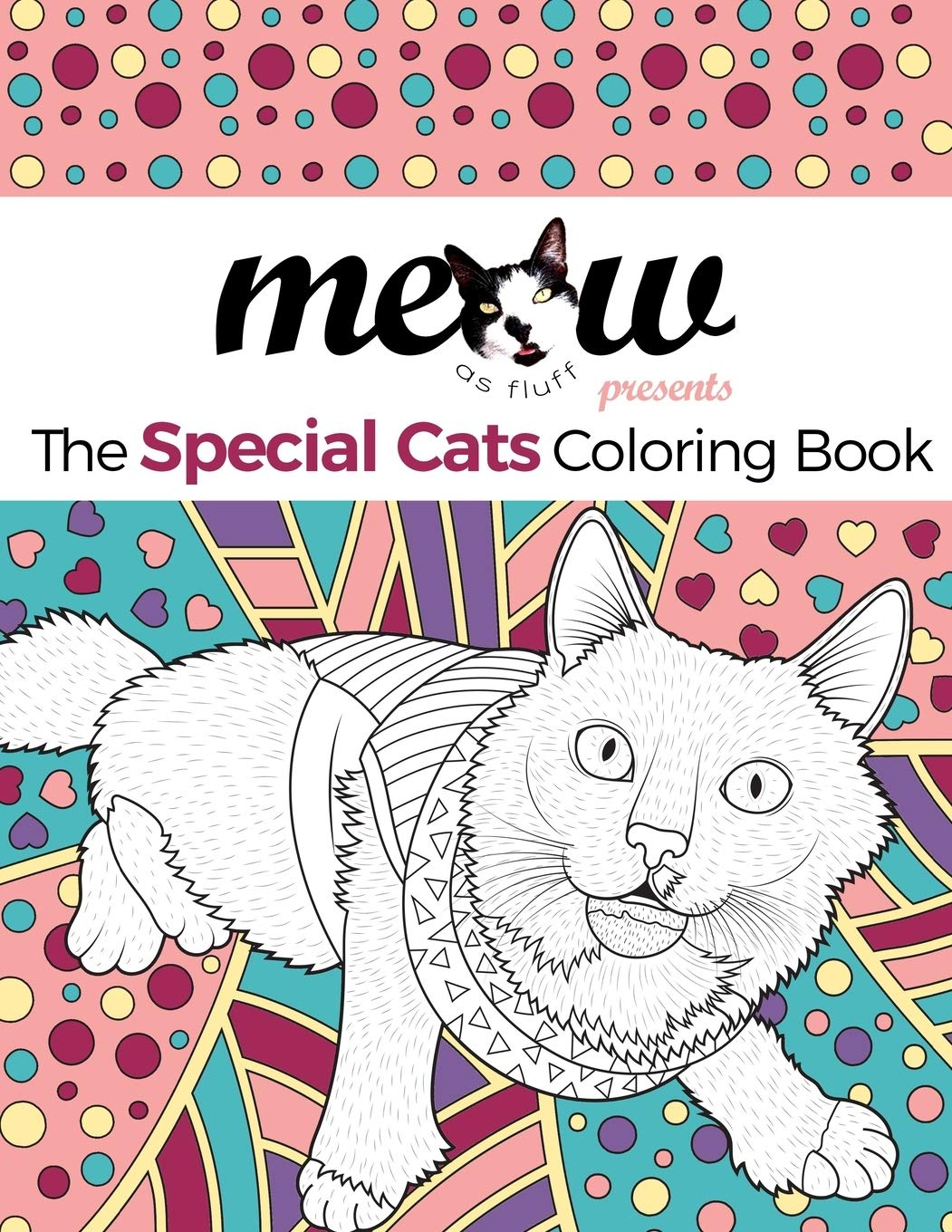 - Amazon.com: Meow As Fluff: The Special Cats Coloring Book