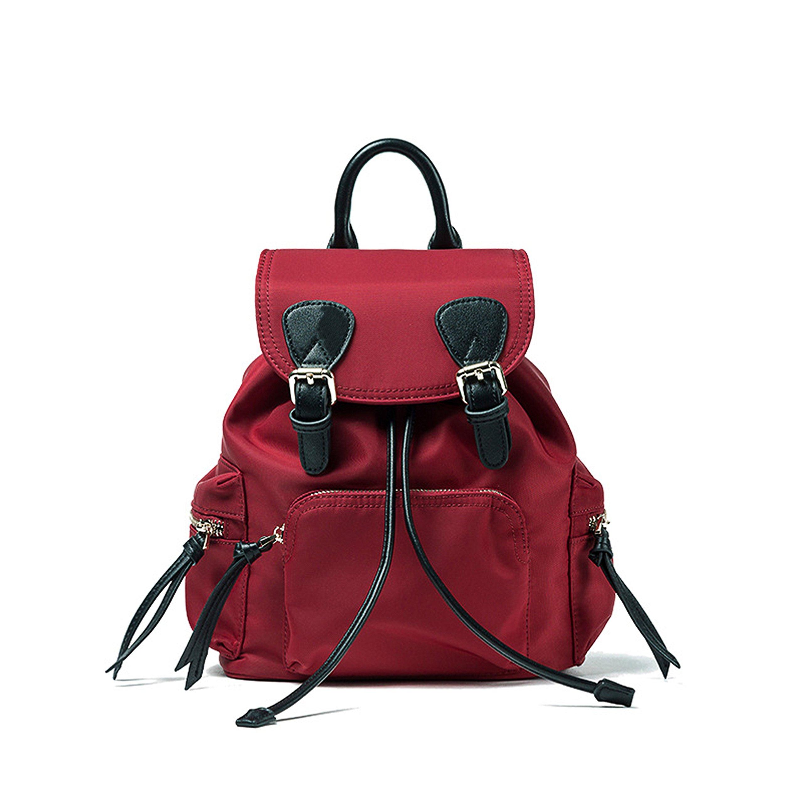 FIGROL Oxford Waterproof Cloth Women Backpack Travel Bag Shoulder Purse School Bag for Girls