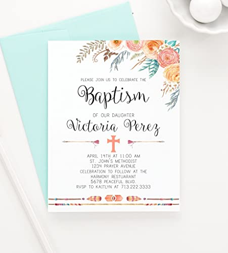Amazon bohemian baptism invitation bohemian christening bohemian baptism invitation bohemian christening invitation boho baptism invitation boho christening invite stopboris Images
