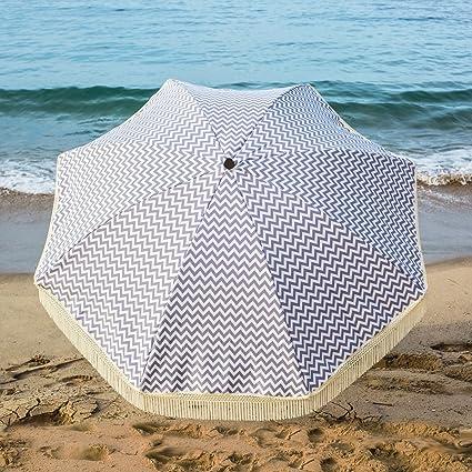f006dc46fd Amazon.com : Beach Brella 5 Ft. Designer Chic Fiberglass Beach ...