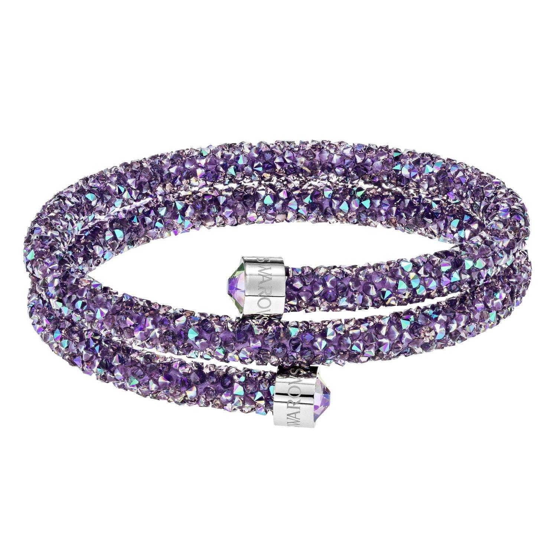 8776788a2bdaa Swarovski CRYSTALDUST:BANGLE DB LAME/CRY/STS M: Amazon.co.uk: Jewellery
