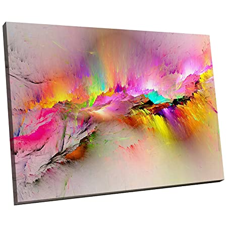 Large Framed Canvas Print Modern Wall Art Hd Quality Picture