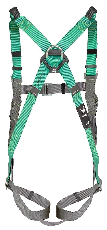 MSA V-Form Auffanggurt EN 1497 Absturzsicherung Fallschutz R/ücken-D-Ring 5 Stellelemente Qwik-Fit-Schnallen Vorderschlaufen Schulterschlaufen Gr/ö/ße XL