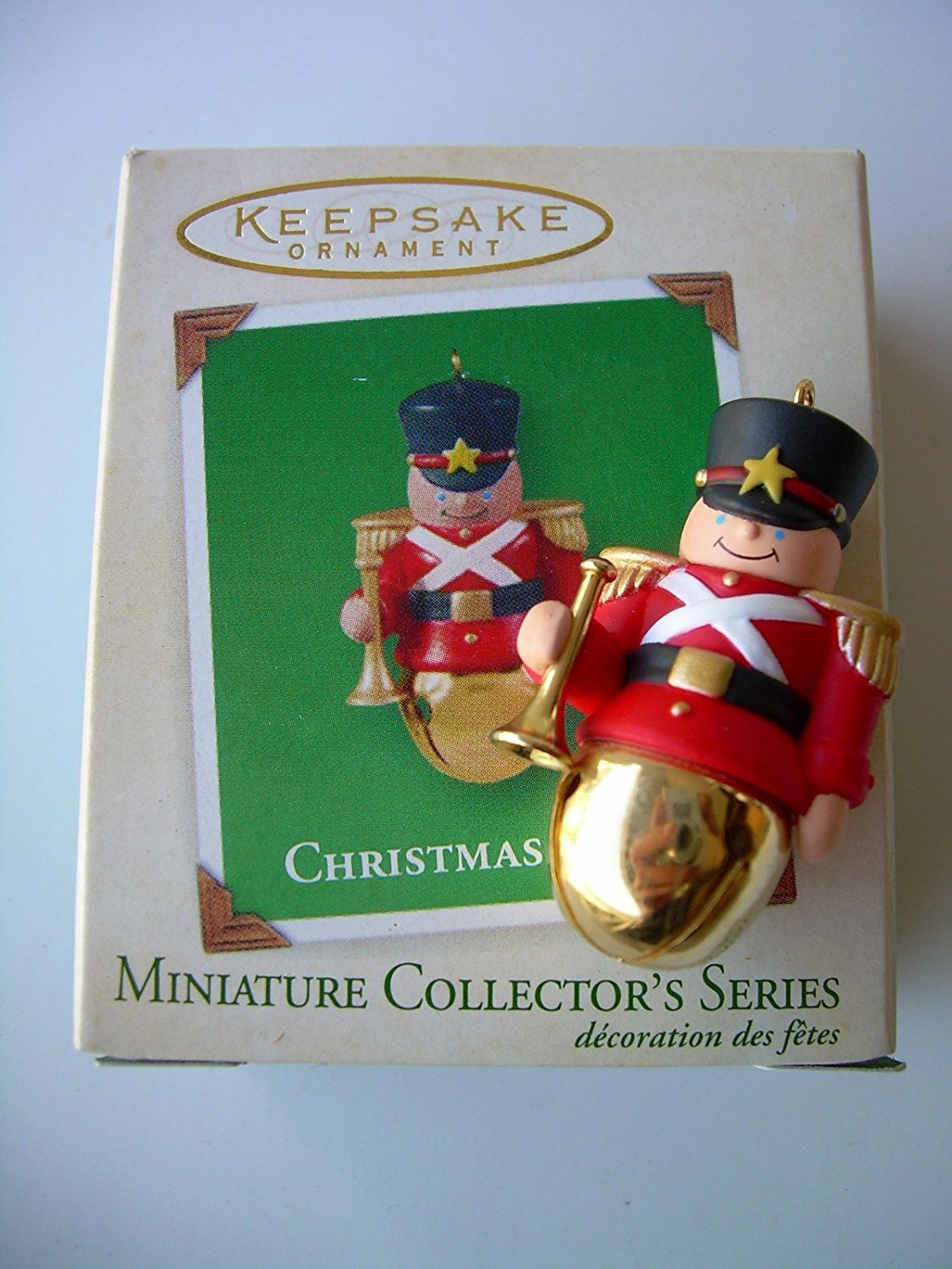 Christmas Bells Miniature Ornament 9th in Series by Hallmark