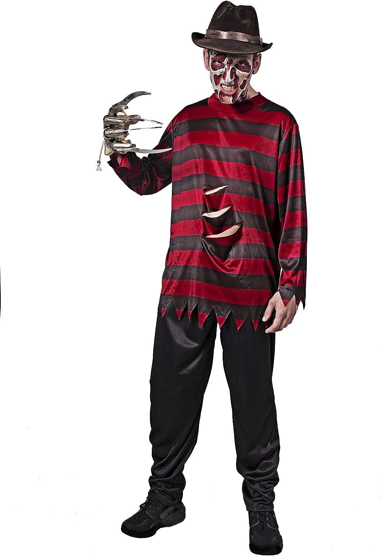 DYSMAD Freddy- Disfraz para Adulto, Talla única, Halloween: Amazon ...
