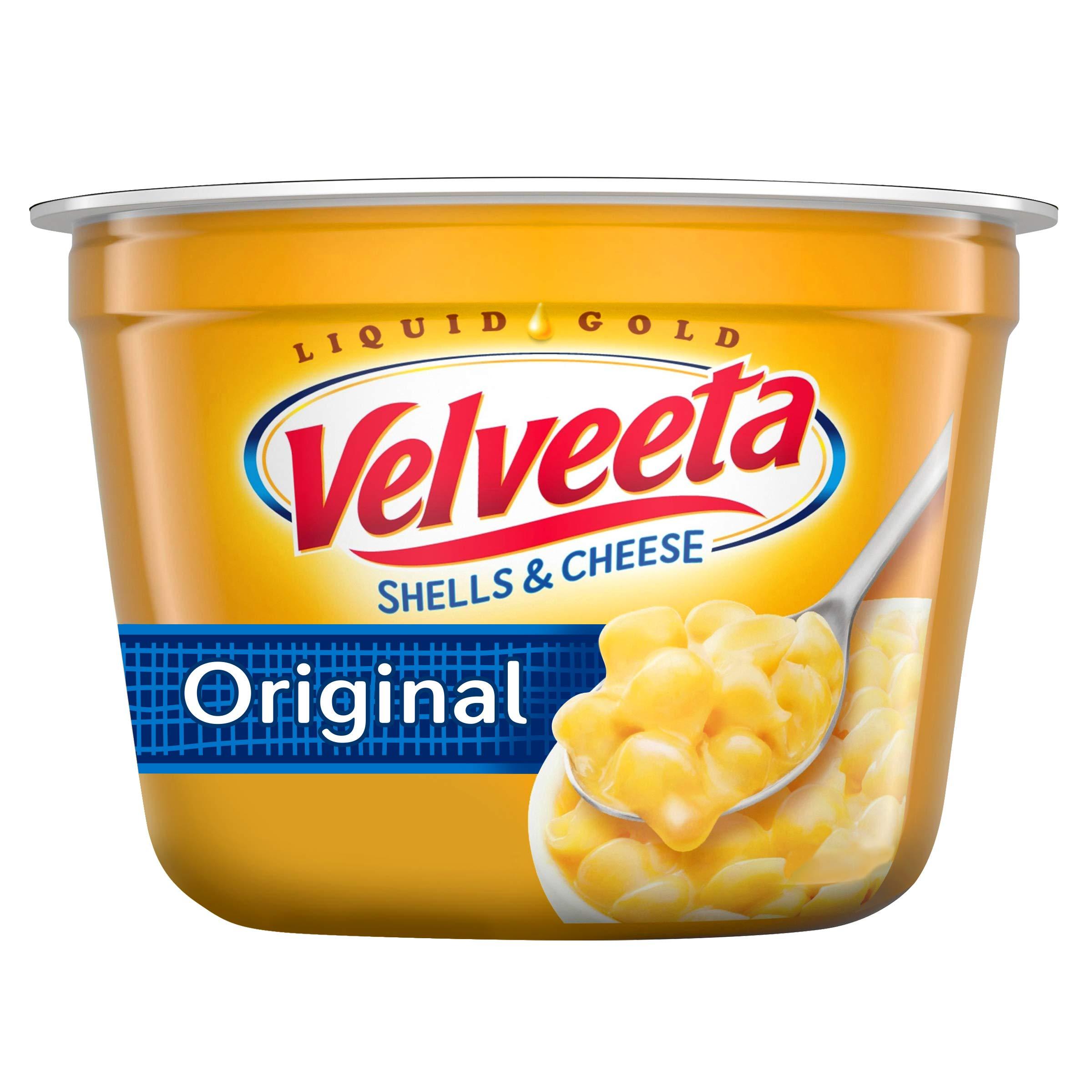 Velveeta Original Easy Mac Shells and Cheese (2.39 oz Microwaveable Cup)