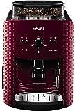Krups德国克鲁伯全自动咖啡机系列EA810780欧洲原装进口意式浓缩自动清洗咖啡机(水箱容量1.8L)红色1450W (两年质保)(包邮)(亚马逊自营商品, 由供应商配送)