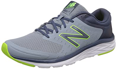 New Balance Men's Grey Lime Running Shoes - 11 UK/India (45.5 EU ...