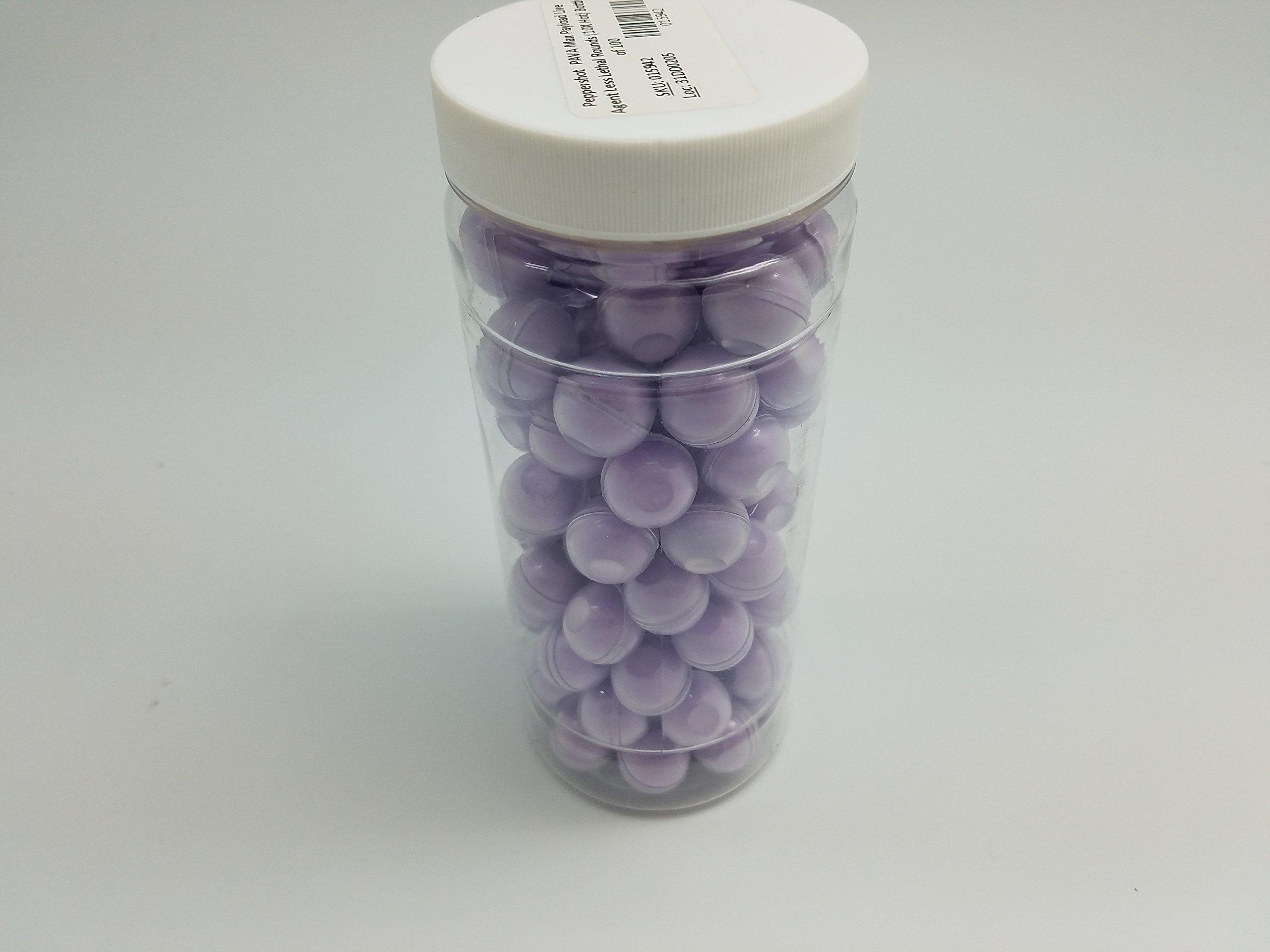 Inert Pepper Balls Jar of 100 by FireStorm