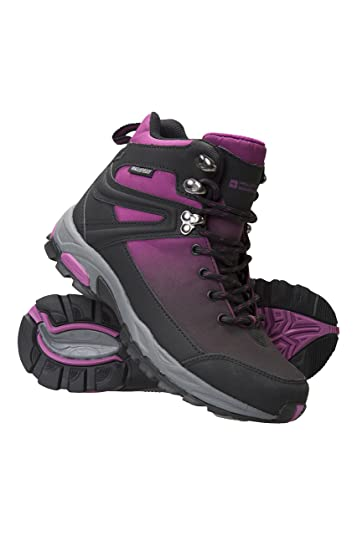 Mountain Warehouse Retrieve Womens Softshell Boots -Ladies Summer Shoes Black 6 M US Women