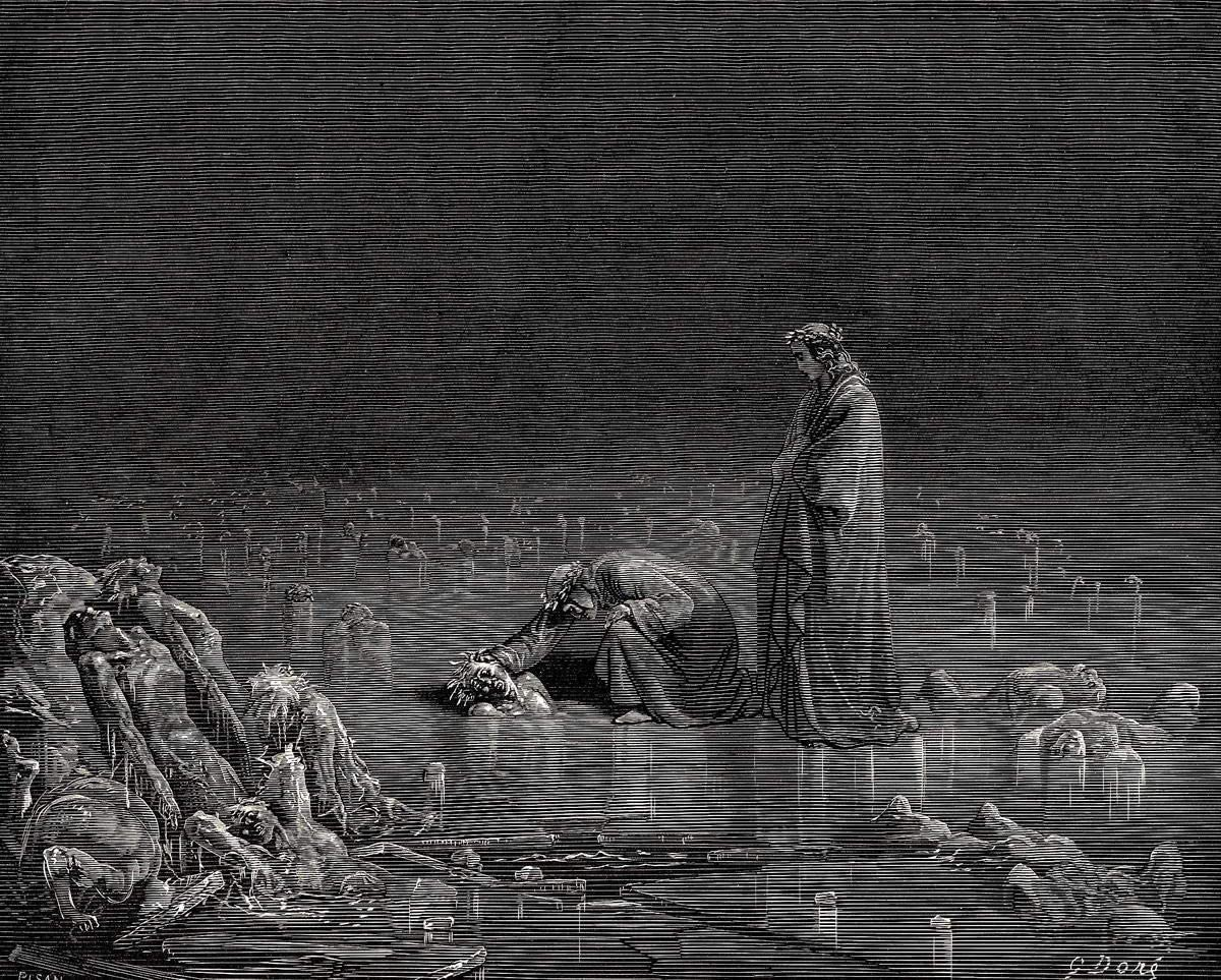 Valley of Dry Bones Gustave Dore Fine Art Rolled Canvas Giclee Print 24x29  in. Art com Art Posters