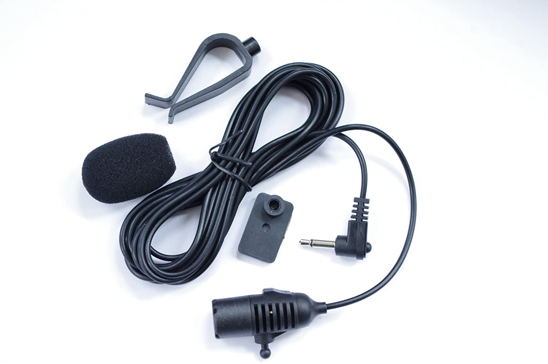 Microphone For Jvc Car Receiver Models Kd A735bt Stereo Wiring Harness Power Plug A845bt A925bt A95bt Ahd75bt Ar865bts Ect Electronics