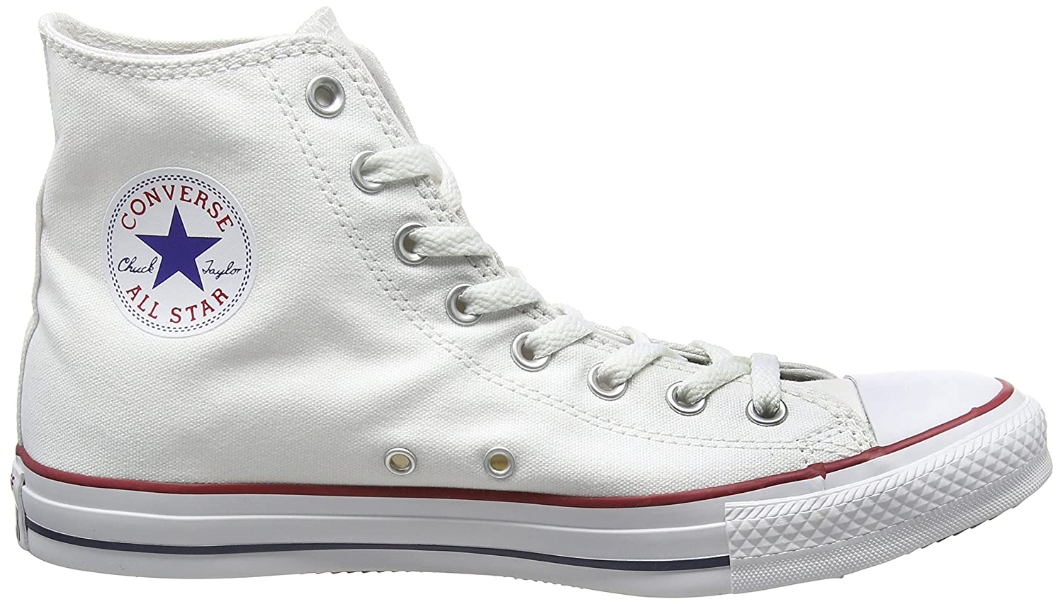 Converse Unisex Chuck Taylor All Star Hi Top Sneaker B01MD0CO5Y 8.5 B(M) US Women / 6.5 D(M) US Men|Optical White