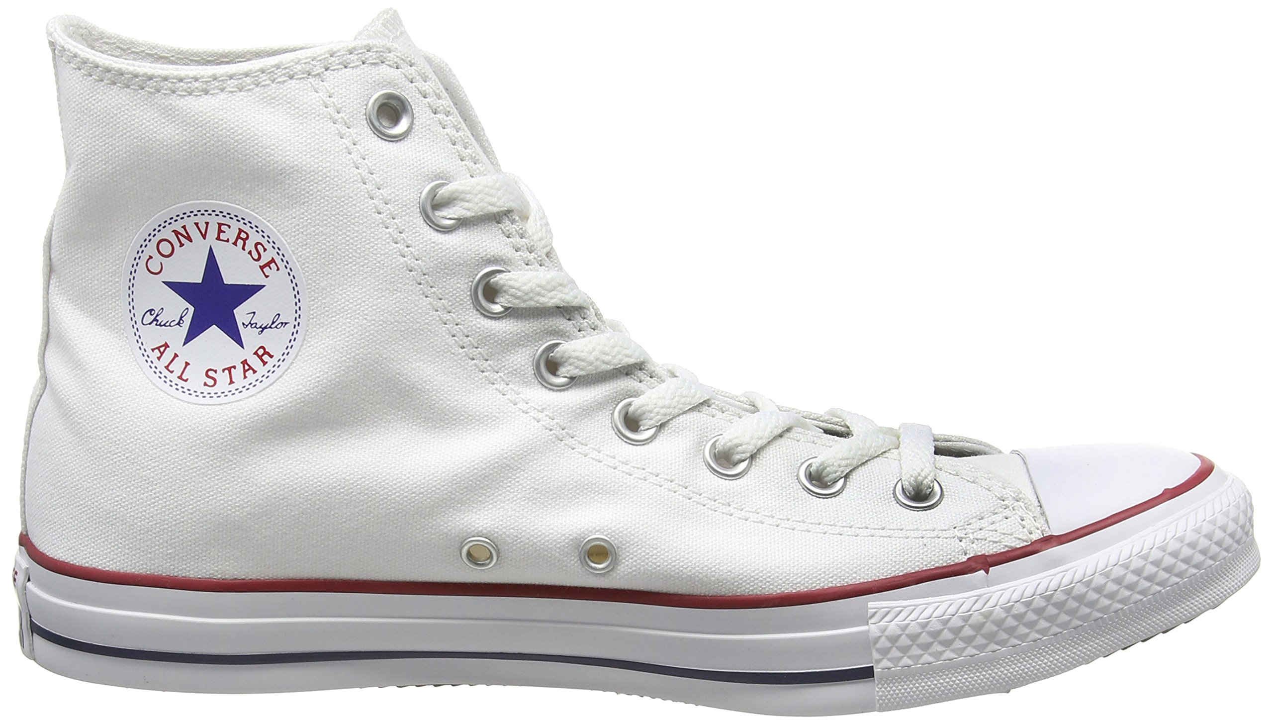 Converse Chuck Taylor All Star High Top Optical White M7650 Mens 12 by Converse (Image #6)