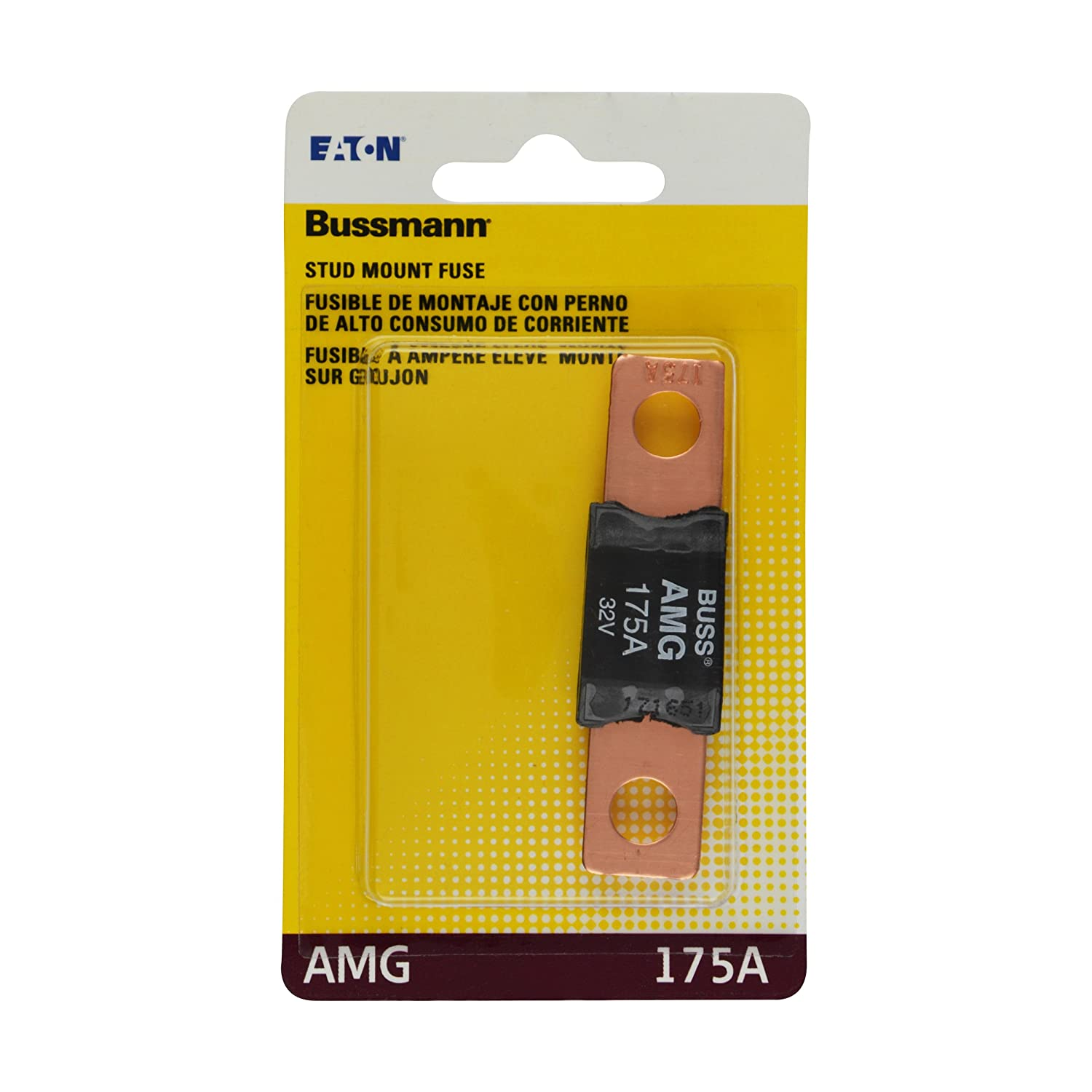 Bussmann Bp Amg 175 Rp Amp High Current Bolt On Buss S Type Fuse Box Automotive