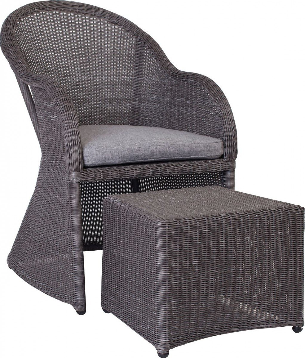 Dreams4home Lounge Sessel Sinai I Sessel Sitz Mit Hocker Mit