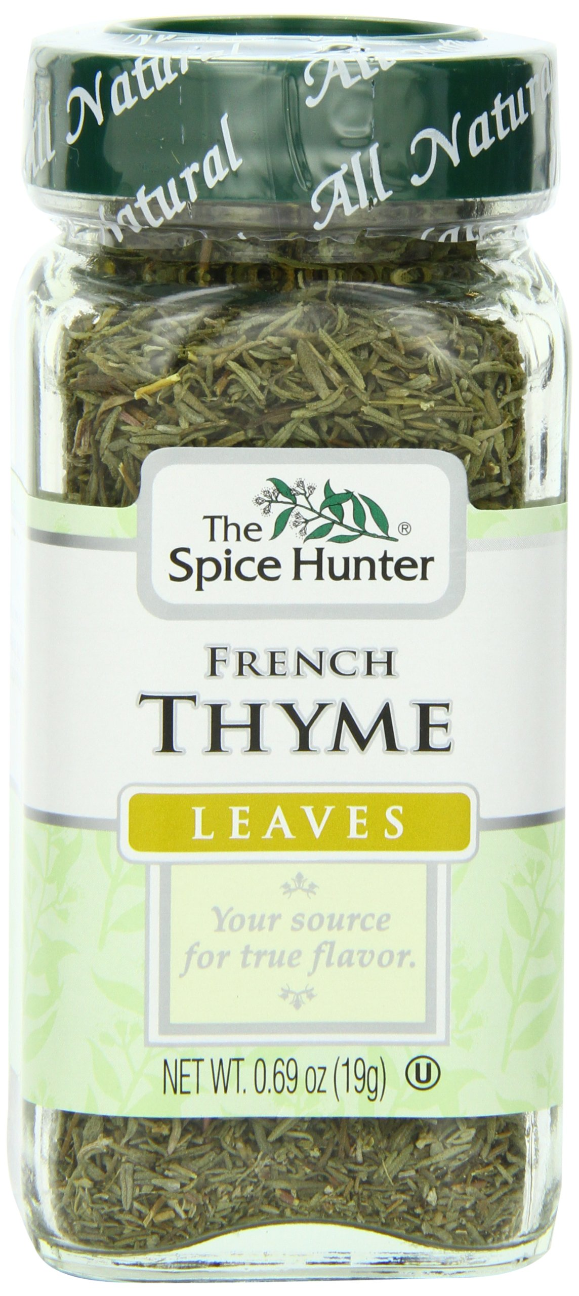 Spice Hunter Spices, Thyme, 0.69 Ounce (Pack of 6)