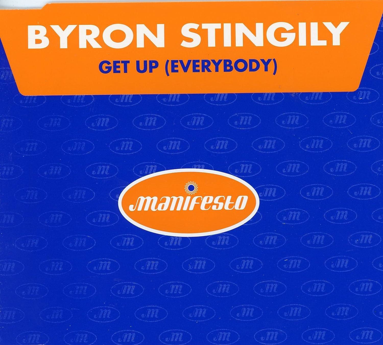 Byron Stingily Get Up Single Cd Amazon Com Music