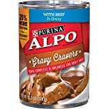 Purina ALPO Gravy Cravers Wet Dog Food - 12-13.2 oz. Cans