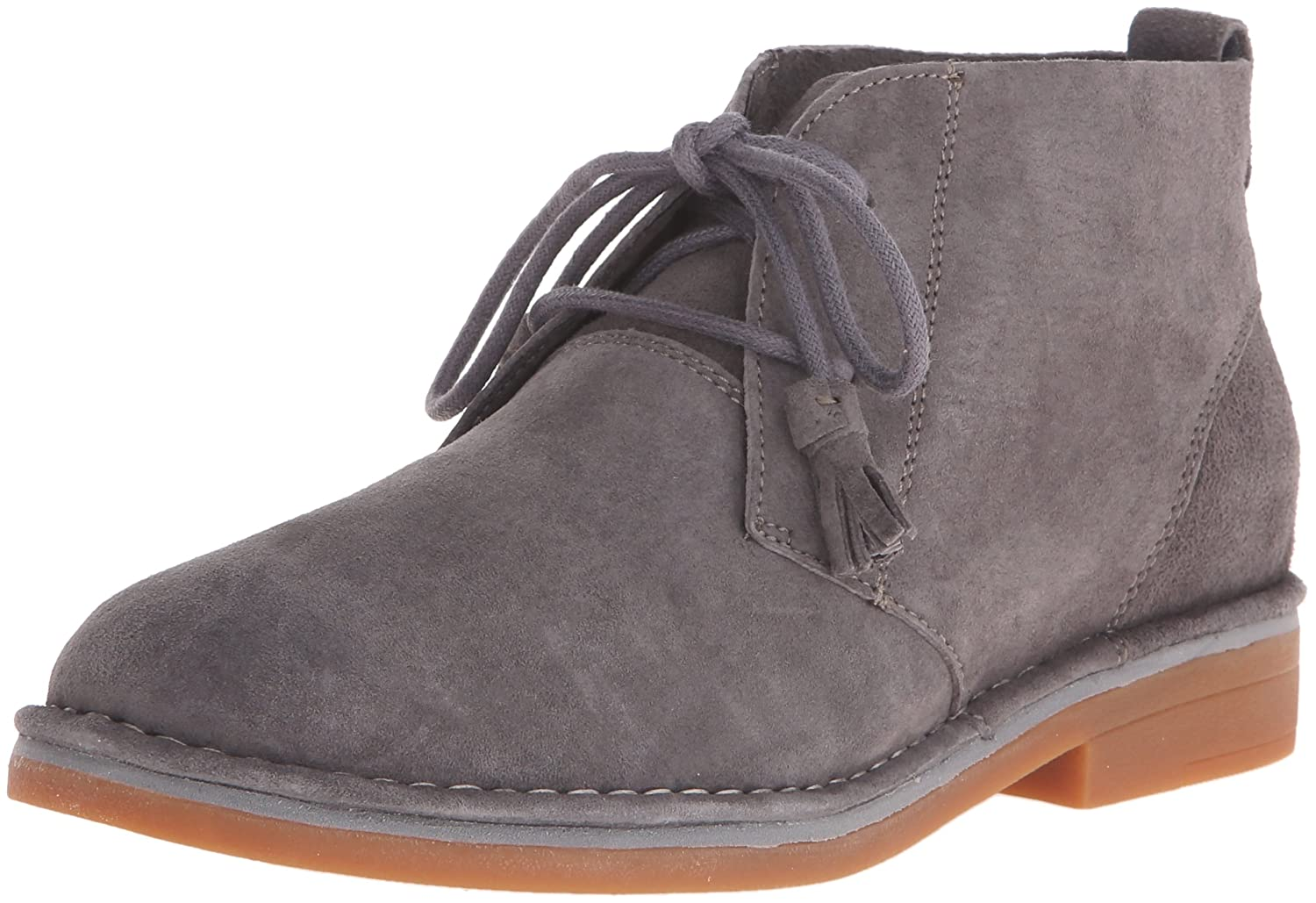 Hush Puppies Women's Cyra Catelyn Boot B010TKSLXS 8.5 B(M) US|Smoke Suede