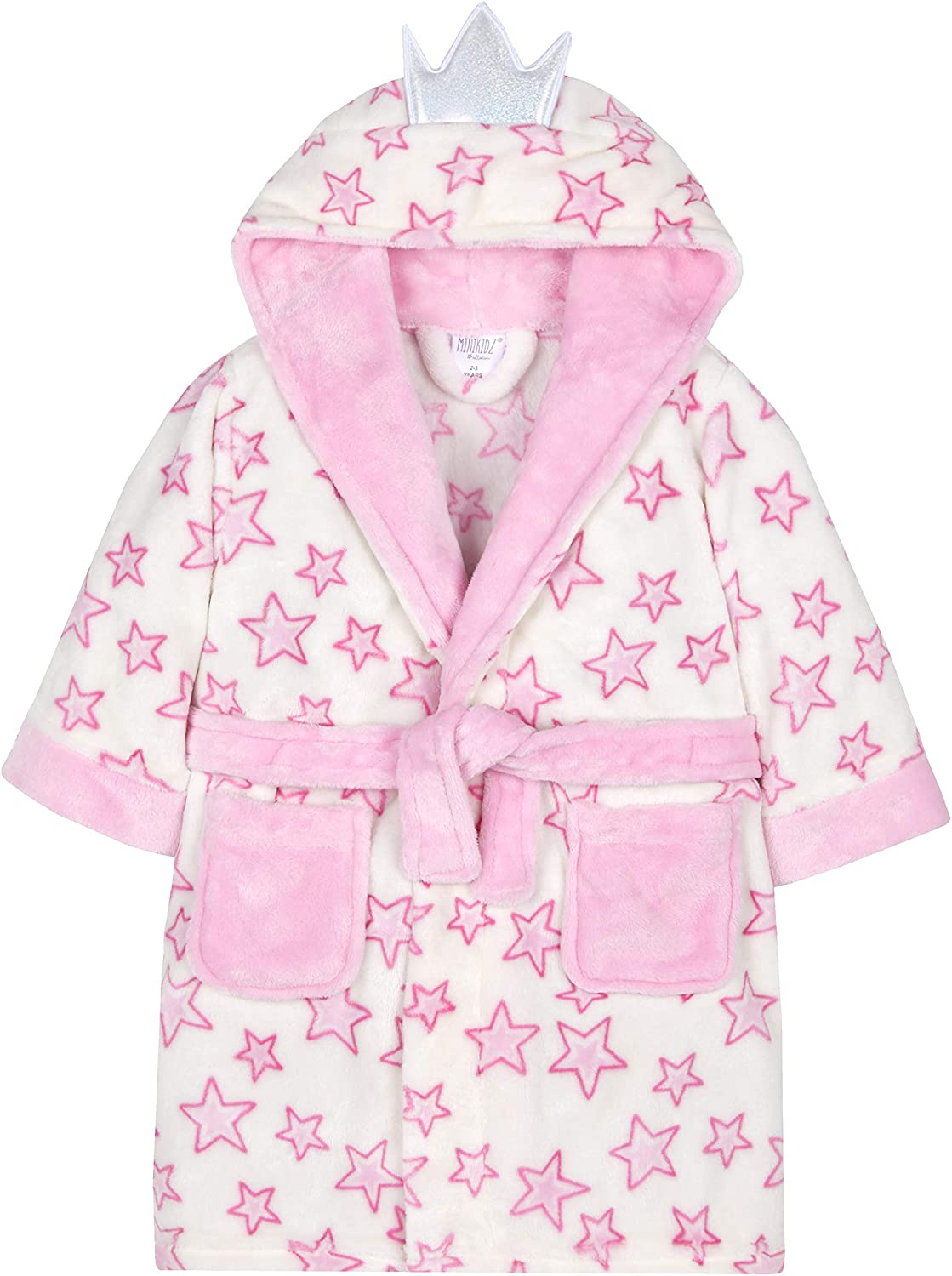 Minikidz Childrens Fairy Princess Dressing Gown with Wings