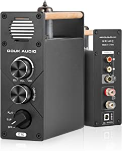 Douk Audio G10 Mono Channel Tube Amplifier Subwoofer Full-Frequency Power Amp
