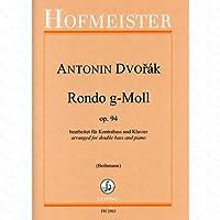 RONDO G-MOLL OP 94 - arrangiert für Kontrabass - Klavier [Noten/Sheetmusic] Komponist : DVORAK ANTONIN