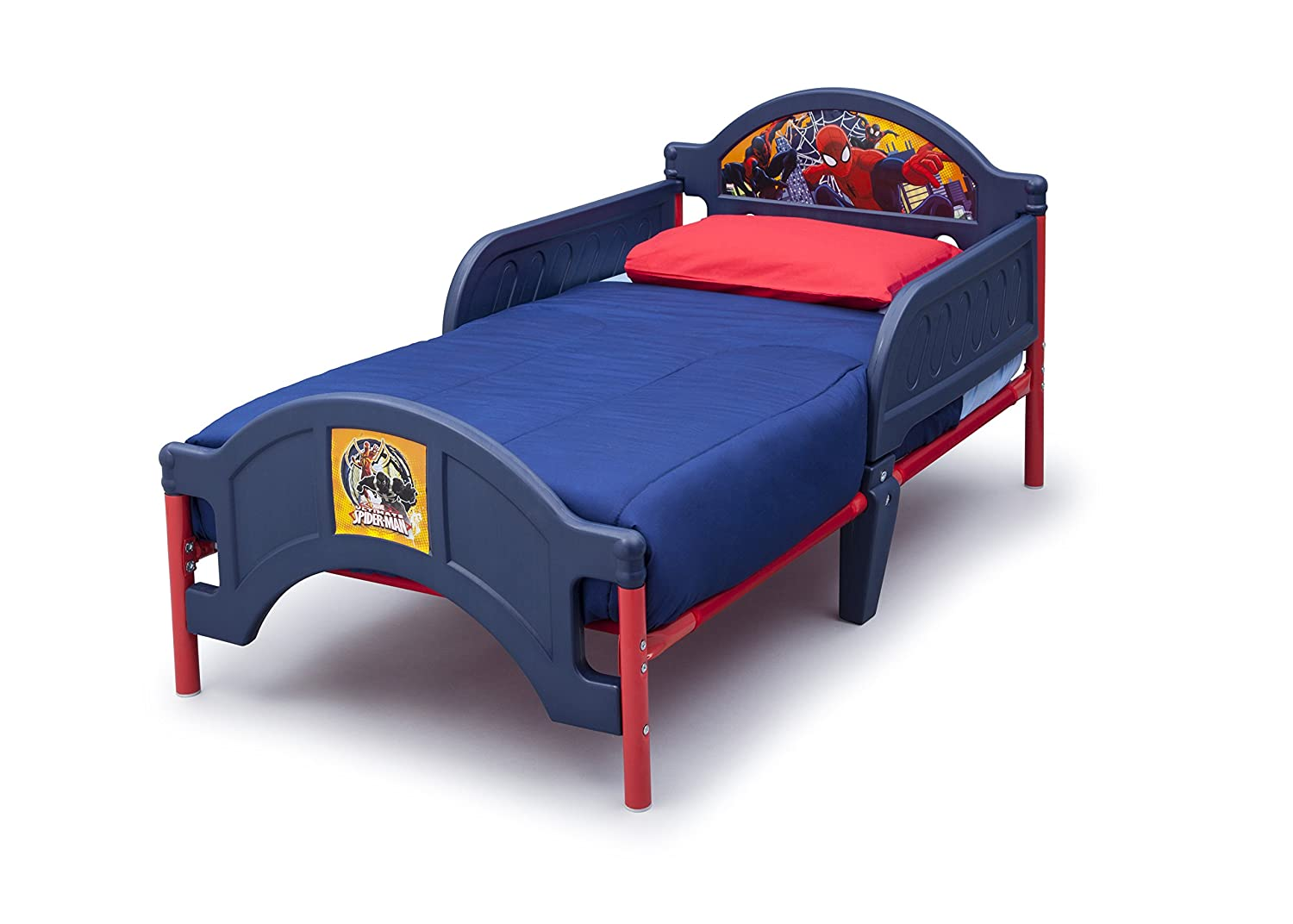 Delta Children Plastic Toddler Bed Marvel Spider Man Amazonca Baby